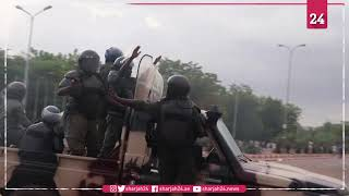 Mass protest gathers in Bamako against president Keita