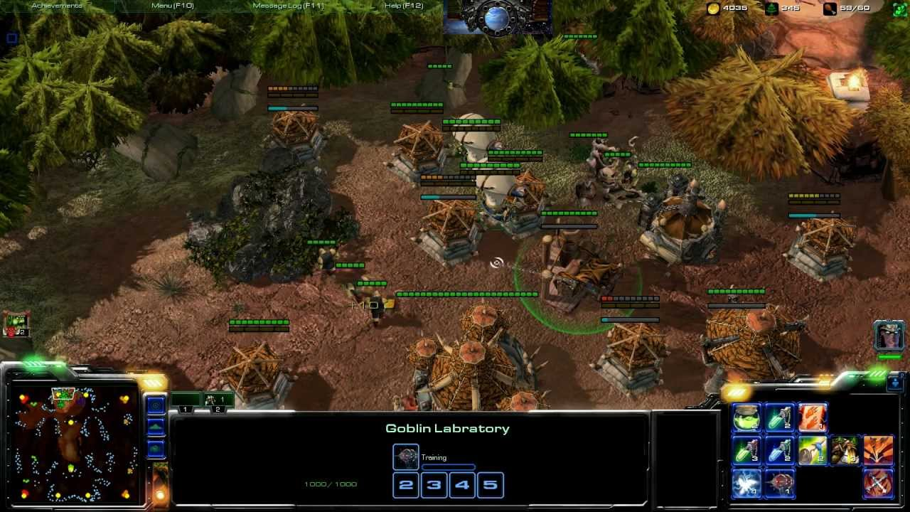 There Is A Gorgeous Warcraft Mod In The Works For Starcraft II