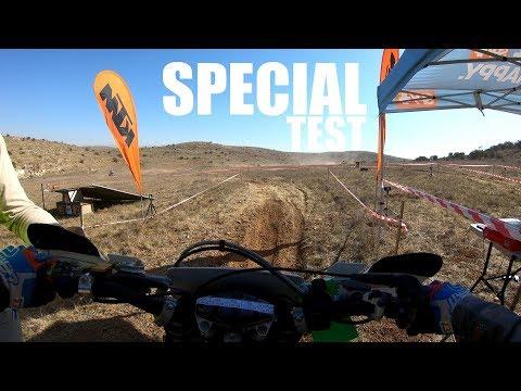 Special test Enduro race - Israeli championship