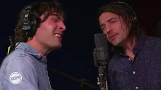 "The Barr Brothers performing ""Burn Card"" Live on KCRW"