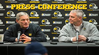 Iowa Football Racial Disparities Press Conference With Kirk Ferentz And Gary Barta