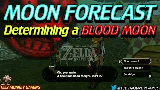 Zelda Breath of the Wild - When does a Blood Moon happen?