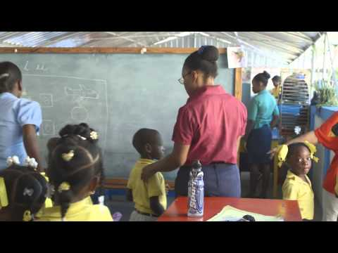 En Haití, bloques de construcción para un futuro mejor