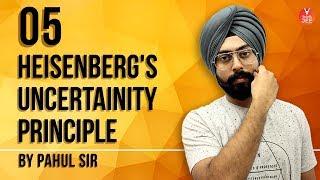 JEE Main Chemistry | Heisenbergs Uncertainity | De Broglie Wavelength Equation | Class 11 | IIT JEE