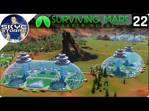 3,000 COLONISTS CHALLENGE! - Surviving Mars Green Planet EP 22 - Gameplay & Tips 2019
