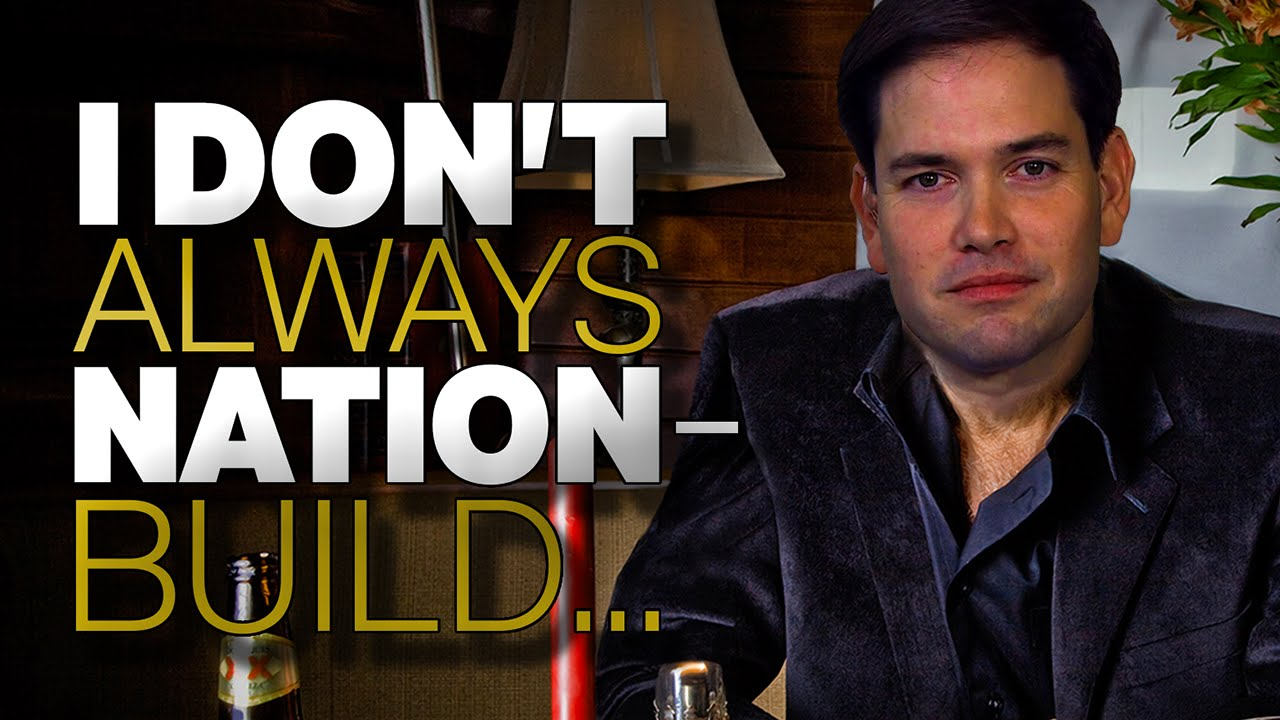 Marco Rubio Against Nation Building But He's For Building Nations [Hilarious Video] thumbnail