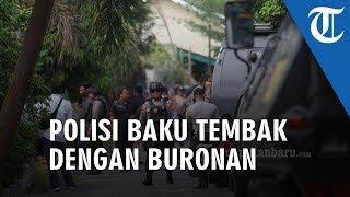 Polisi Baku Tembak dengan Pelaku Kejahatan di Pekanbaru Riau, Dua Orang Dikabarkan Tewas