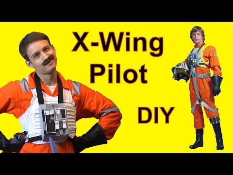How to Make An X Wing Flight Suit (Star Wars DIY)