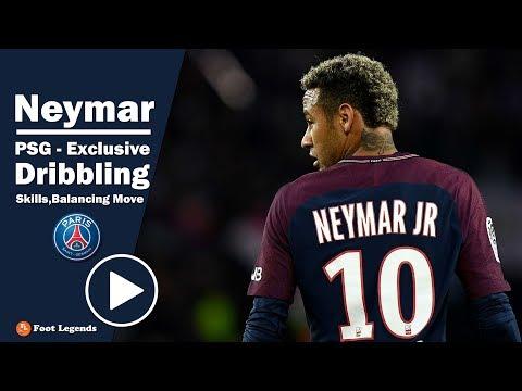 Neymar Jr 2018 ● PSG - Exclusive Dribbling Skills, & Balancing Move || HD