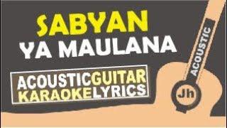 Nisa Sabyan - Ya Maulana (Karaoke Acoustic Cover)