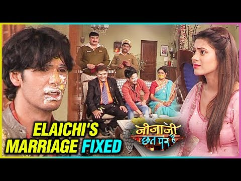 Elaichi's Marriage Fixed | Cake Fight | Jijaji Chh