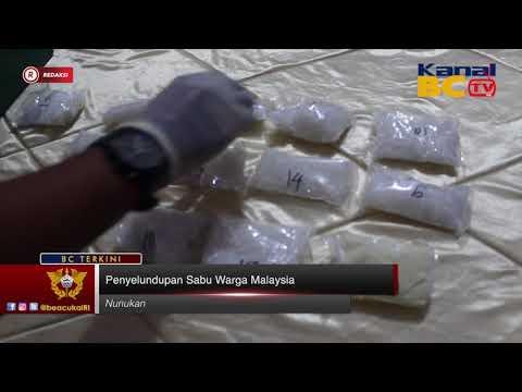 [Redaksi] Penyeludupan Sabu Warga Malaysia
