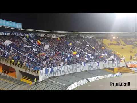 """Millonarios F.C Vs bucaramanga - Entra la Blue Rain   Cantos!!"" Barra: Blue Rain • Club: Millonarios"