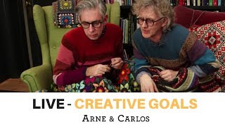 RERUN - LIVE from ARNE & CARLOS - Creative goals for 2019 - February 16th 2019