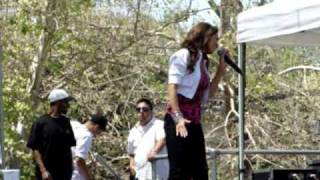 "Angelina ""Release Me"" KSFM 1025 Cinco De Mayo Concert Live Sacramento, CA May 2 2010"