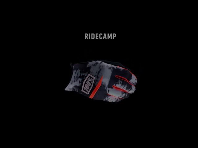 Видео Перчатки Ride 100% RIDECAMP Glove