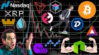 NASDAQ Will List $XRP! Is NEO SUPER A Scam? $BAT Secret Partnership | Bakkt Concerns | $TRX DEX