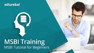 Microsoft BI Training - 1 | MSBI Tutorial for Beginners - SSIS Tutorial | SSIS SQL Server | Edureka