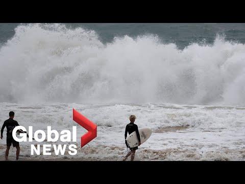 Hurricane Douglas: Rare storm brushes Hawaii islands, bringing damaging winds