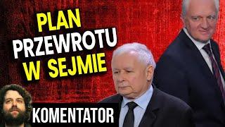 Plan Przewrotu w Sejmie! Gowin i Opozycja Przejmą TVP i Spółki Skarbu Państwa – Analiza Komentator