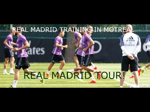 Real Madrid 7th training session in Montreal ~ Waremadrid~From #RMtour