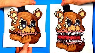 CREATE YOUR FNAF ANIMATRONICS - 10 COOL Five Nights at Freddy