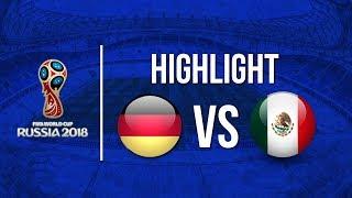 Hasil Laga Piala Dunia  2018, Timnas Jerman Ditaklukkan Meksiko