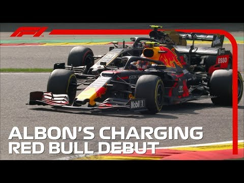 Alex Albon's Charging Red Bull Debut | 2019 Belgian Grand Prix