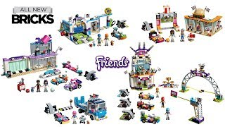 Lego Friends Go-Kart Theme Compilation of All Sets