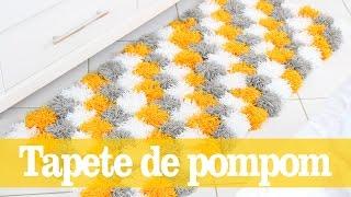 DIY Tapete De Pompom | Decoração De Inverno Ft. Dona Engenhosa | Do Sofá