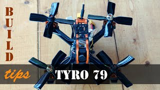 FPV Eachine Tyro79 tips after first build