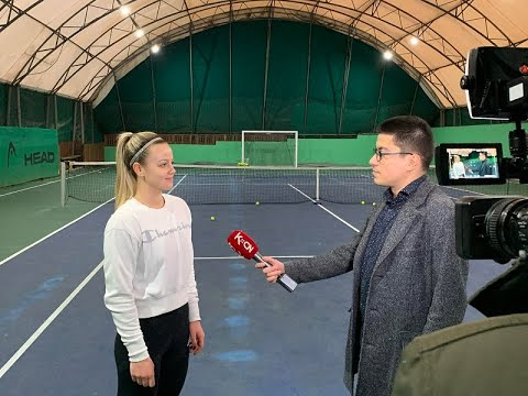 Time out -  tenis u zimskom periodu - (TV KCN 25.01.2021)