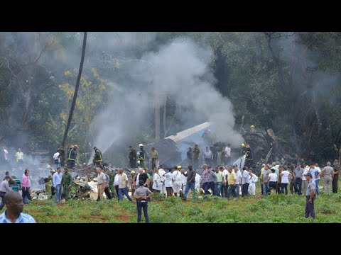 Cuba: Airplane crashes, killing more than 100, investigation underway