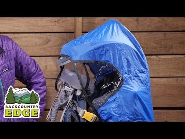 Видео Чехол-накидка для рюкзака Deuter KC deluxe Raincover Сoolblue