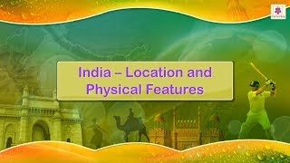 India - Location and Physical Features | Periwinkle