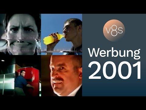 Sat.1-Werbeblock 2001 — Tic Tac · Hornbach · Fanta · ck one · Nutella · Karstadt · Langnese · uvm.