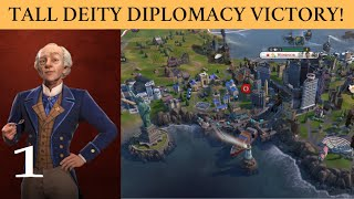 Part 1 - Turn 112 Fast Culture Victory (Deity) - Sweden - Civ 6