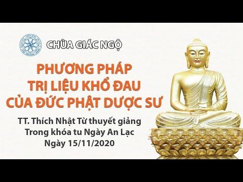 Phương pháp trị liệu khổ đau của đức Phật Dược Sư