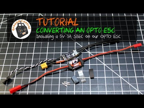 Convert your OPTO ESC with this BlueSky SBEC from Banggood