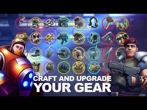 Vídeo do Alpha Squad 5: RPG & PvP Online Battle Arena