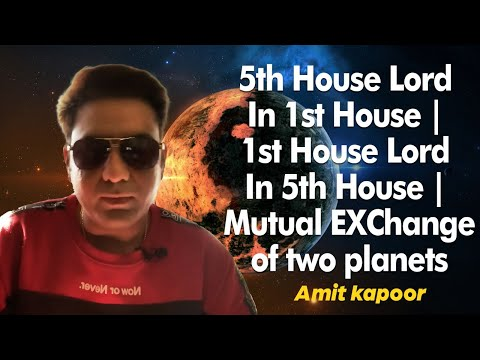 5th House Lord In 1st House | 1st House Lord In 5th House | Mutual EXChange of two planets 🪐