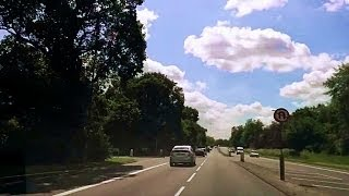 preview picture of video 'Driving in London - Putney to Tibbet's Corner'