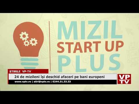 24 de mizileni își deschid afaceri pe bani europeni
