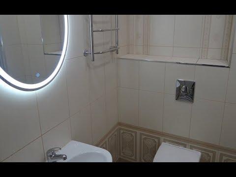 Ремонт ванной комнаты совмещенной с туалетом своими руками видео Душевой поддон кабину своими руками