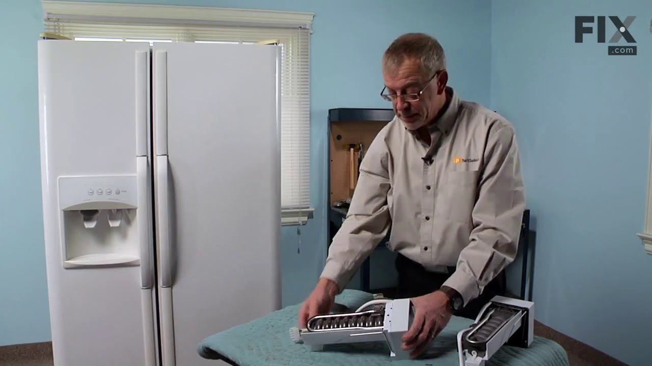 Replacing your Frigidaire Refrigerator Replacement Ice Maker