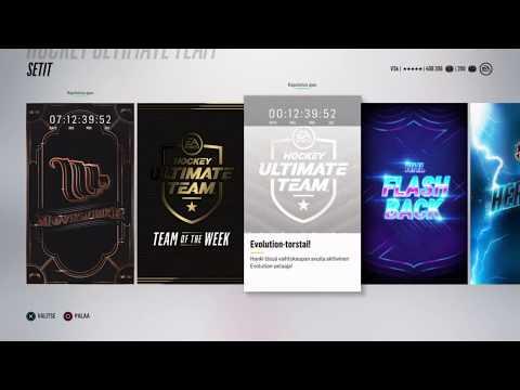 NHL 18 HUT: BLACK FRIDAY PAKKOJA JA EVO SETTI!