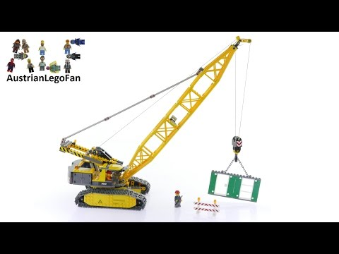 Vidéo LEGO City 7632 : La grue à chenilles