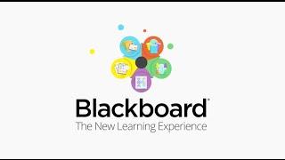 Blackboard Learn video