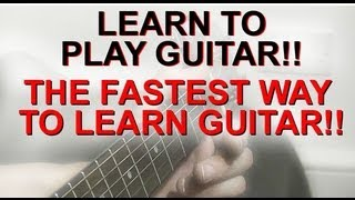 """Video thumbnail of """"Learn To Play Guitar The Fastest Way - The Busker Technique 1"""""""