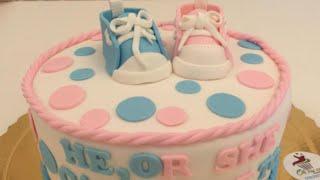 كيكة جنس المولود Gender Reveal Cake